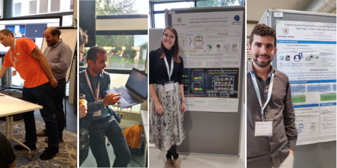 GSIC/EMIC researchers attended the 14th European Conference on Technology Enhanced Learning
